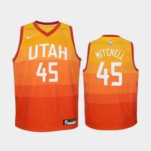 Women Utah Jazz Donovan Mitchell City Jersey